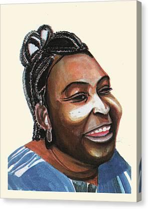 Mariama Ba Canvas Print