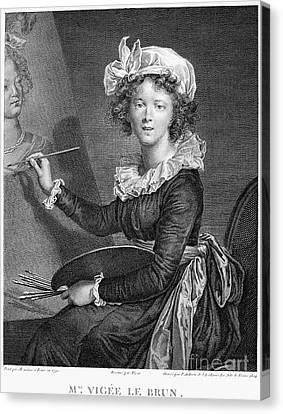 Marie Anne Vigee-lebrun Canvas Print by Granger