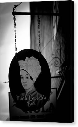 Marie Laveau's Bar Canvas Print by Shelly Stallings