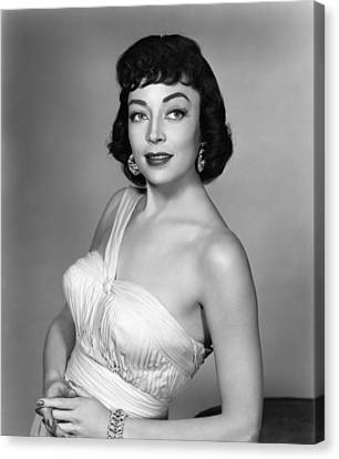 Marie Windsor, 1955 Canvas Print