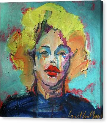 Marilyn 2010 Canvas Print by Les Leffingwell
