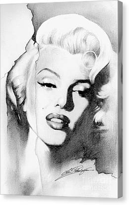 Marilyn Monroe Canvas Print by Lin Petershagen