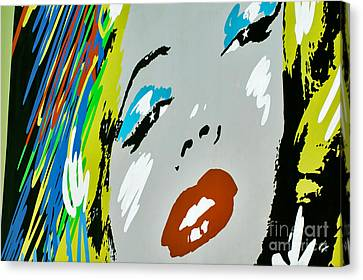 Marilyn Monroe Canvas Print by Micah May
