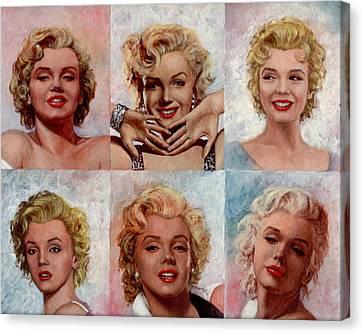 Marilyn Monroe Canvas Print by Tim Kelly