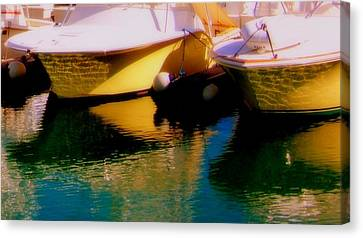 Marina Rainbow Canvas Print by Karen Wiles