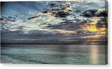 Canvas Print featuring the photograph Marine Paradise by Andrea Barbieri