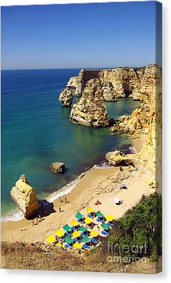 Marinha Beach Canvas Print