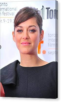Marion Cotillard At Arrivals For Little Canvas Print by Everett