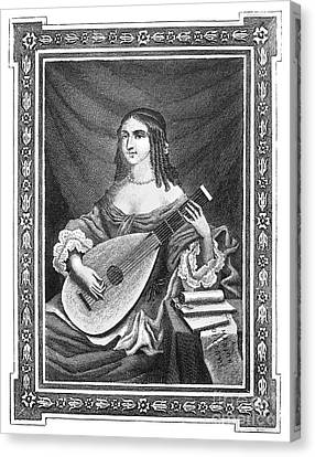 Marion Delorme (c1613-1650) Canvas Print by Granger