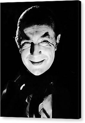 Mark Of The Vampire. Bela Lugosi, 1935 Canvas Print by Everett
