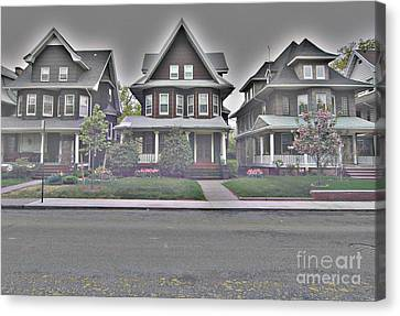 Marlborough Road Canvas Print by Mark Gilman