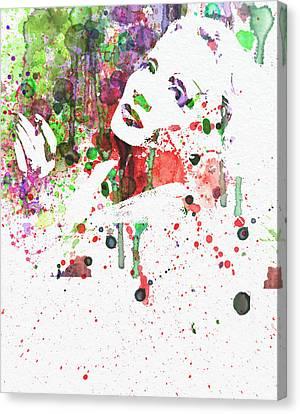 Marlene Dietrich 3 Canvas Print