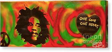 First Amendment Canvas Print - Marley Love by Tony B Conscious