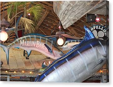 Marlin Bar Canvas Print
