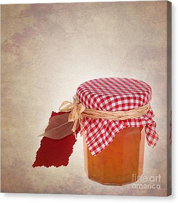 Container Canvas Print - Marmalade Gift Vintage by Jane Rix
