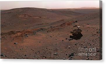 Mars Exploration Rover Spirit Canvas Print by Stocktrek Images