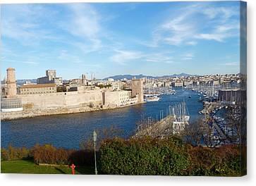 Marseille Vieux Port Canvas Print