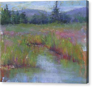 Marsh Colors Canvas Print