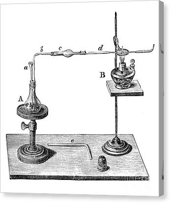Marsh Test Apparatus, 1867 Canvas Print by Science Source