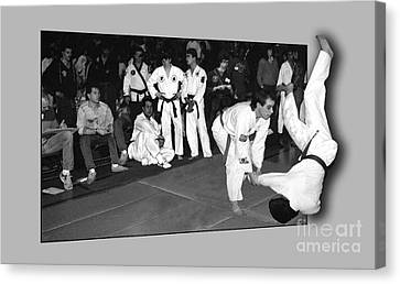 Martial Arts 4 Canvas Print by Jeff Breiman