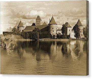 Martin Castle Canvas Print by Yanni Theodorou