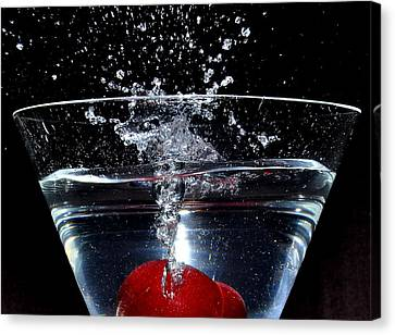 Martini Canvas Print by Carlos Nass