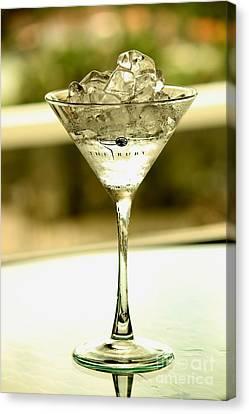 Martini Xvi Canvas Print by Rene Triay Photography