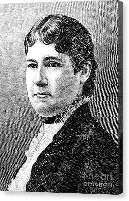 Mary Arthur Mcelroy Canvas Print by Granger
