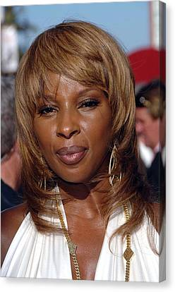 Mary J. Blige At Arrivals For 2007 Espy Canvas Print by Everett