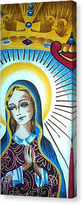 Mary Canvas Print by Julie Butterworth