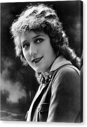 Mary Pickford, Ca. 1920s Canvas Print by Everett