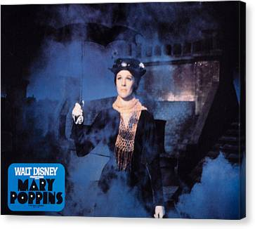 Mary Poppins, Julie Andrews, 1964 Canvas Print