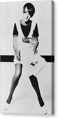 Mary Quant, British Mod Fashion Canvas Print by Everett
