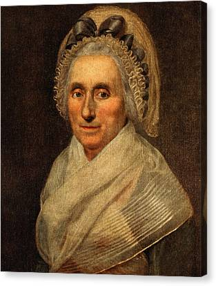 Mary Washington - First Lady  Canvas Print by International  Images
