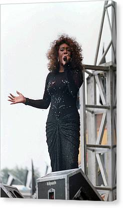 Mary Wilson Canvas Print by Mike Martin