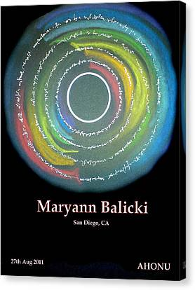 Maryann Balicki Canvas Print