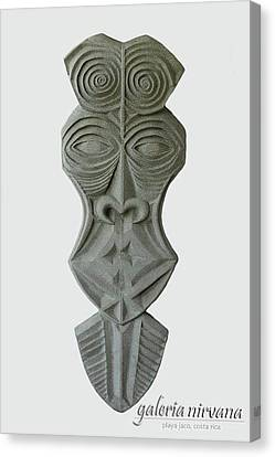 Mask 1 2006 Canvas Print by Eduardo Leiva