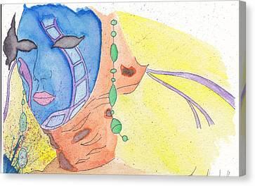 Mask Canvas Print by Jona Henshall
