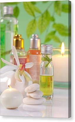 Healthcare And Medicine Canvas Print - Massage Spa Concepts by Atiketta Sangasaeng