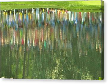 Master Reflection Canvas Print by Sharon Farris