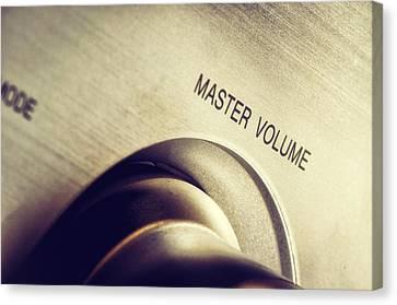 Master Volume - On Canvas Print by Mustafa Otyakmaz