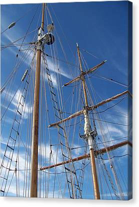 Masts Canvas Print
