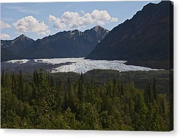 Matanuska Glacier Canvas Print by George Hawkins