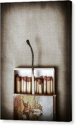 Matches Canvas Print by Joana Kruse