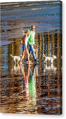 Matching Couples Canvas Print by Dawn OConnor