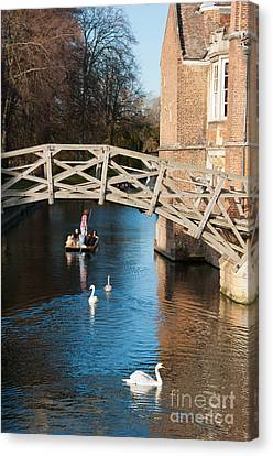 Mathematical Bridge Canvas Print by Andrew  Michael