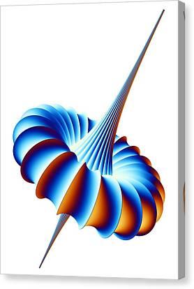 Mathematical Model, Artwork Canvas Print by Pasieka