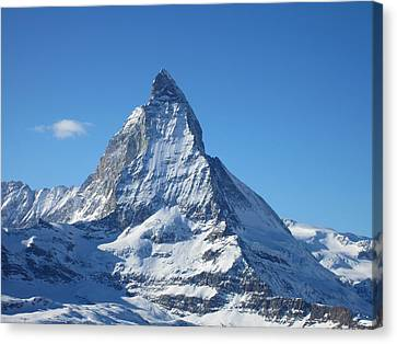 Matterhorn Canvas Print by Dion Halliday