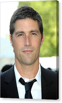 Matthew Fox At Arrivals For Abc Network Canvas Print by Everett