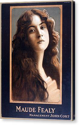 Maude Fealy 1881-1971, American Canvas Print by Everett